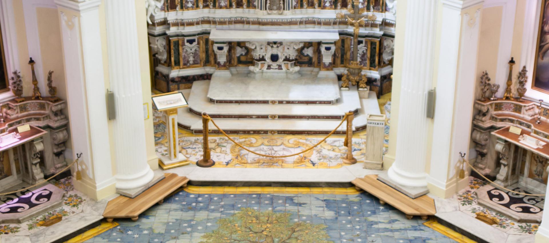Ceramic floor of San Michele (Saint Michael) church, Anacapri